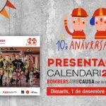 Calendari Bombers amb Causa 2021 - presentació virtual